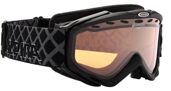 Alpina Spice Quattroflex Hicon S2 goggles zwart